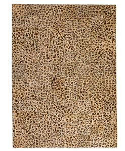 Patchwork Leather/Cowhide Rug 11P4079 120x180cm 1