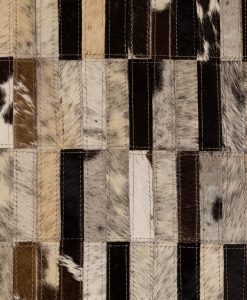 Patchwork Leather/Cowhide Rug 12P5050 120x180cm 2