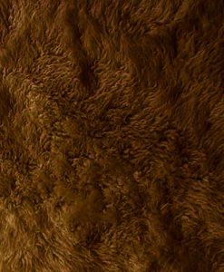 Cocoa Brown Flokati 2800g/m2 250x350cm 1