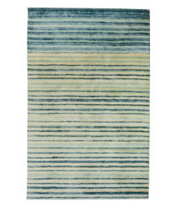 Stripe Rug Wool Jute Bamboo 130x190cm Adrift 1