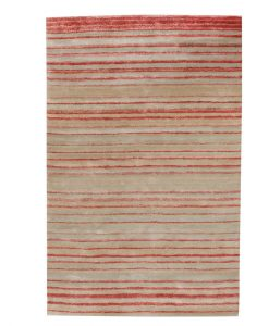 Stripe Rug Wool Jute Bamboo 160x230cm Japan Lover 1