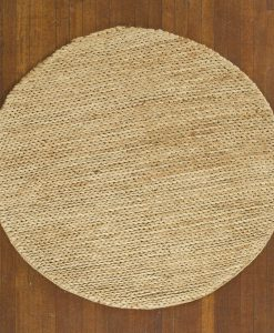 Hemp Braid Rug Round Natural 150cm 1