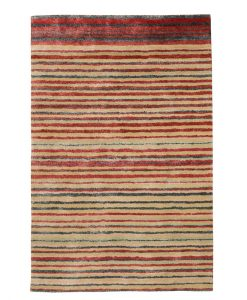 Stripe Rug Wool Jute Bamboo 130x190cm Lincoln 1