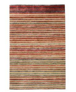 Stripe Rug Wool Jute Bamboo 160x230cm Lincoln 1