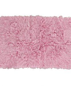 Flokati Rug 1400g/m2 140x200cm Pink 1