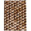 Patchwork Leather/Cowhide Rug SGP1618 120x180cm 1