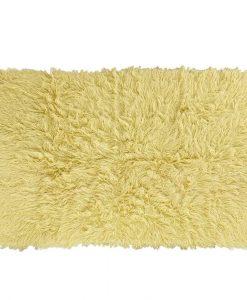 Flokati Rug 1400g/m2 140x200cm Yellow 1