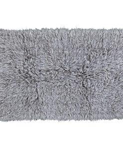 Natural Grey/White/Brown Flokati 2800g/m2 150cm Round 1