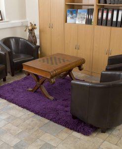 Highlander Shaggy Rug Mixed Purple 110x170cm 1