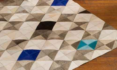 patchwork kohuds-mattor