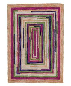 Square Spiral Loop Weave Rug VENICE 170×240 1