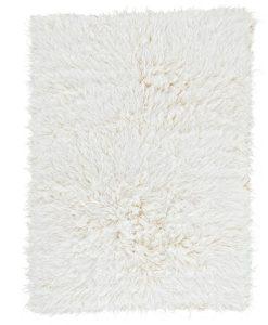 Natural Flokati Rug 2800g/m2 70x140cm 1